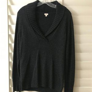 Charcoal Gray J Crew Sweater